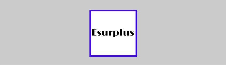 Esurplus
