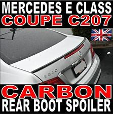Mercedes E Class W207 C207 Coupe AMG Style Rear Carbon Boot Spoiler UK Stock