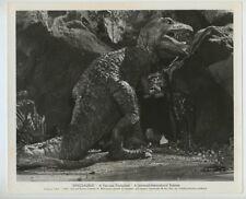 Dinosaurus! 1960 Original Photo w/Snipe Sci Fi Monster Dinosaur Film J2693