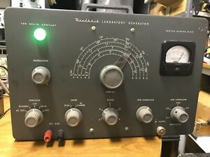 Heathkit LG-1 RF Signal Generator - Working with original manual