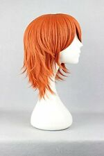 One Piece Nami cosplay peluca Wig disfraz anime corto Orange fiesta de carnaval
