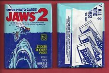 1978 Topps Jaws 2 single Wax Pack