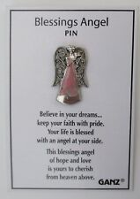 bb Blessings angel pink Pin lapel Ganz believe in dreams faith blessed hope love