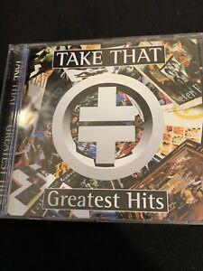 Take That  Hits  Signed Gary Barlow Rare Cd