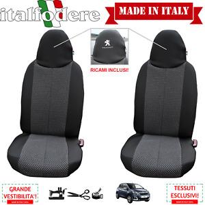 COPRISEDILI FODERE FODERINE Specifiche Peugeot 108 COPPIA SOLO ANTERIORI Grigio2