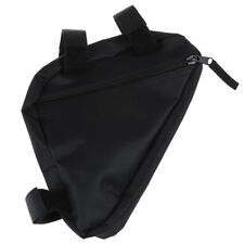 Waterproof triangle cycling bike bicycle front tube frame pouch saddle bag_S