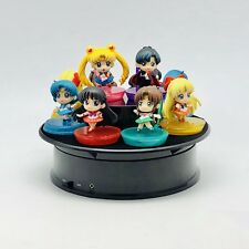 Revolving display stand for All collectibles :  Sailor moon anime barbie