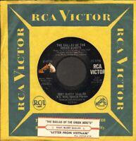 Sadler, Ssgt Barry - The Ballad Of The Green Berets Vinyl 45 rpm record