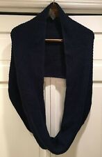 Soft Surroundings Infinity Scarf  Navy Blue   NW0T!