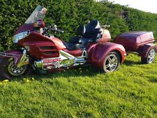 honda goldwing gl1800 trike with matching trailer ono