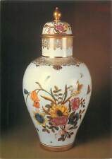 Postcard art decoration vase painting flowers
