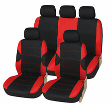 FORD FOCUS ST 06-10 RACING RED SEAT COVERS