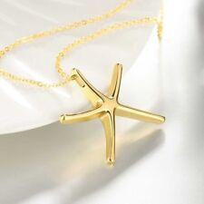 Women's Crystal Pendant Bib Choker Chain Statement Necklace Earrings Jewelry Set