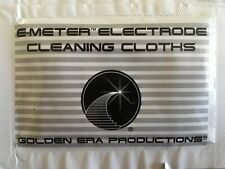 Scientology E-meter Electrode Cleaning Cloths 2 Packets