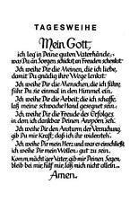 "PSALM  unbeschrieben ""H8014"" Tagesweihe"