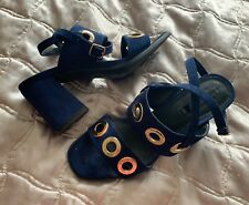 Navy Shoes By LOST INK Size 6 EUR 39