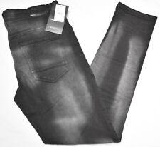 $64 NWT NEW Mens Akademiks Jeans Blackout Stretch Slim Denim Black 32x32 32 N629