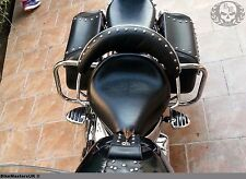YAMAHA  XVS 1100 DRAG STAR CL./CU CHROME REAR SADDLEBAG GUARD CRASH  BARS