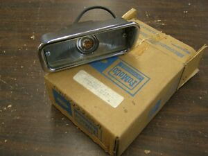 NOS OEM Ford 1961 1964 Lincoln Continental Park Light Lamp Housing 1962 1963