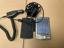Vintage PalmOne Palm Tungsten T5 PDA Palm Pilot + charger and car cable