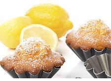 2.5inch 6pcs Non-stick Mini tart pan floral pie tin cake mould black bakeware