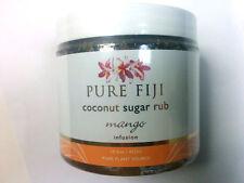 Pure Fiji Coconut Sugar Rub Mango Infusion 15.5 oz 457 mL