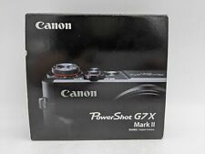 Canon PowerShot G7X Mark II 20.1MP Black -TT0813