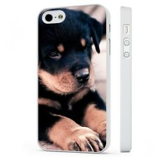 Rottweiler Puppy Dog Cute WHITE PHONE CASE COVER fits iPHONE