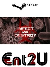 Infect and Destroy (Early Access) Steam Key for PC or Linux (Same Day Dispatch)