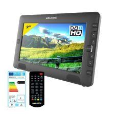 Televisore 9 pollici digitale terrestre T2 Tv portatile ricaricabile auto 12v