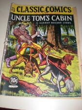 Classics Illustrated # 15, 14 HRN, 11/1943, ed. #1 - Uncle Tom's Cabin