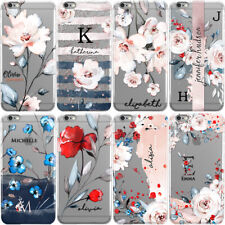 PERSONALISED FLORAL PHONE CASE WITH INITIALS OR NAME COVER FOR ONEPLUS 3 5 X