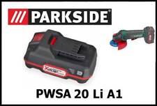 2Ah Bateria Amoladora Radial Parkside 20V Li Battery Angle Grinder PWSA 20-Li A1