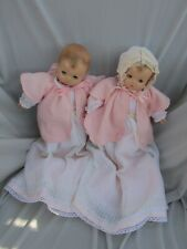 Vintage Effanbee Patsy Baby Doll Pair Twins