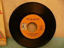 Bell Records T-A #186 The Original Caste VINTAGE COLLECTIBLE OEM 45 rpm Record