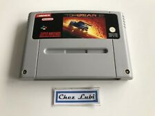 Top Gear 2 - Super Nintendo SNES - PAL FAH