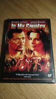 In My Country (DVD, 2005) ~ Juliette Binoche, Samuel L. Jackson