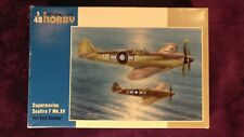 Special Hobby 1:48 Seafire F Mk.XV Far East Service Model Kit #48116 SEALED BAGS