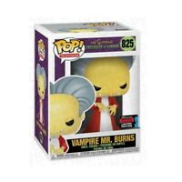 The Simpsons Vampire Mr. Burns 2019 NYCC Exclusive Funko Pop
