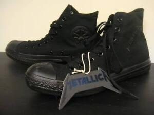 Converse All Star Chuck Taylor METALLICA 111114 Black US Men's size 9