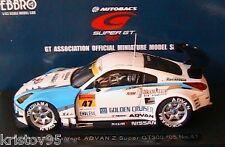 NISSAN #47 CCI RECALDENT ADVAN Z SUPER GT300 2005 EBBRO