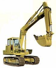 Hymac 580 C B BS BT Operators Maintenance Parts Manual Crawler Excavator HY-MAC