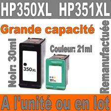 Cartouches d'encre Prodess remanufacturées HP 350 XL  HP 351 XL Noir / Couleurs