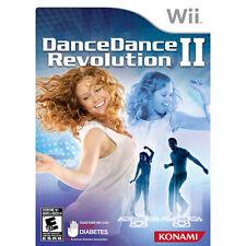 DANCE DANCE REVOLUTION II Nintendo Wii Game - Dance Mat Included