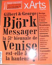 Beaux-Arts magazine N°252 Art africain contemporain Cassandre IRCAM Canaletto