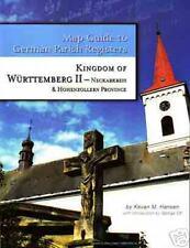 Württemberg II - Neckarkreis and Hohenzollern Province