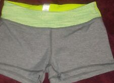 Ivivva By Lululemon Dedication Shorts Heathered Slate Wee Are From Space  14