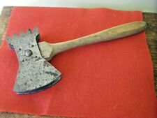 Rustic Primitive Two Blade Axe Chopping Tool