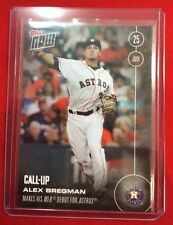 Alex Bregman Topps Now Call Up Card #287 mint HOUSTON ASTROS ROOKIE