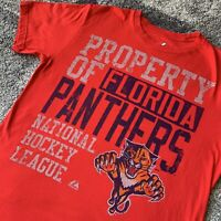 Majestic NHL Florida Panthers Property Hockey Shirt Mens Large
